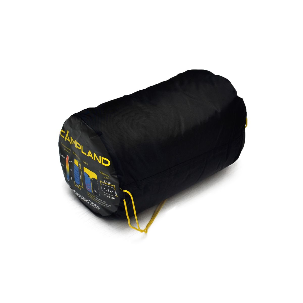 Спальный мешок-одеяло Campland Tender 200 R, правосторонняя молния, 190 см х 80 смTender 200Комфортный спальник-одеяло имеет прямоугольную форму и одинаковую ширину как вверху, так и внизу, благодаря чему ноги чувствуют себя более свободно. Молния располагается на боковой стороне, благодаря чему при ее расстегивании спальник превращается в довольно большое одеяло.Наполнитель: Hollowfibre, 200 г/м2.Внешний материал: Полиэстер 190Т.Внутренний материал: 100% полиэстер.