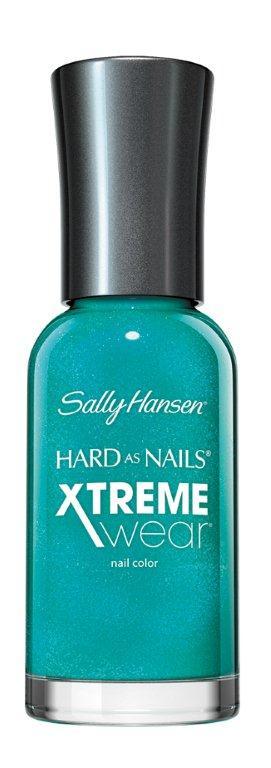 Sally Hansen Xtreme Wear Лак для ногтей тон 280 jazzy jade, 11,8 млWS 7064Компания Sally Hansen предлагает своим клиентам лак для ногтей Hard As Nails Xtreme Wear Nail Color в ассортименте. Продукт оказывает укрепляющее и увлажняющее воздействие, насыщает питательными веществами, отличается особой стойкостью. Средство равномерно распределяется по поверхности ногтевой пластины, быстро высыхает, не скалывается и не отслаивается. В коллекции представлено большое разнообразие смелых и изысканных цветов, которые позволят создать элегантный маникюр.