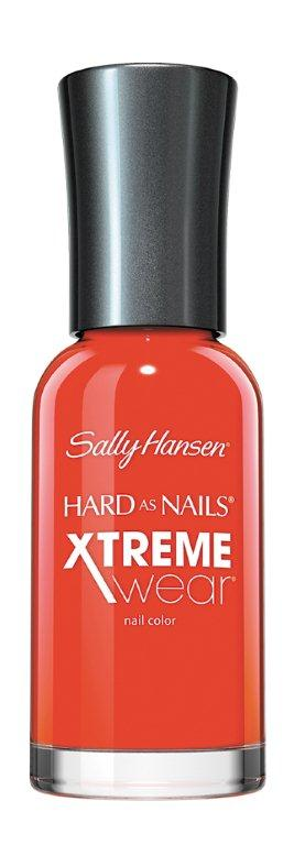 Sally Hansen Xtreme Wear Лак для ногтей тон 170 hot temale, 11,8 млSC-FM20104Компания Sally Hansen предлагает своим клиентам лак для ногтей Hard As Nails Xtreme Wear Nail Color в ассортименте. Продукт оказывает укрепляющее и увлажняющее воздействие, насыщает питательными веществами, отличается особой стойкостью. Средство равномерно распределяется по поверхности ногтевой пластины, быстро высыхает, не скалывается и не отслаивается. В коллекции представлено большое разнообразие смелых и изысканных цветов, которые позволят создать элегантный маникюр.