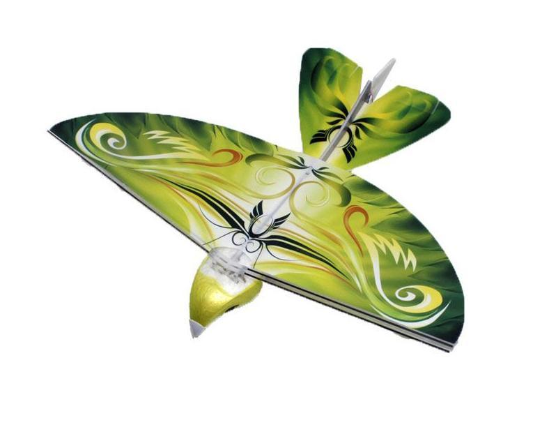 Balbi Игрушка на радиоуправлении Летающая птица цвет зеленый