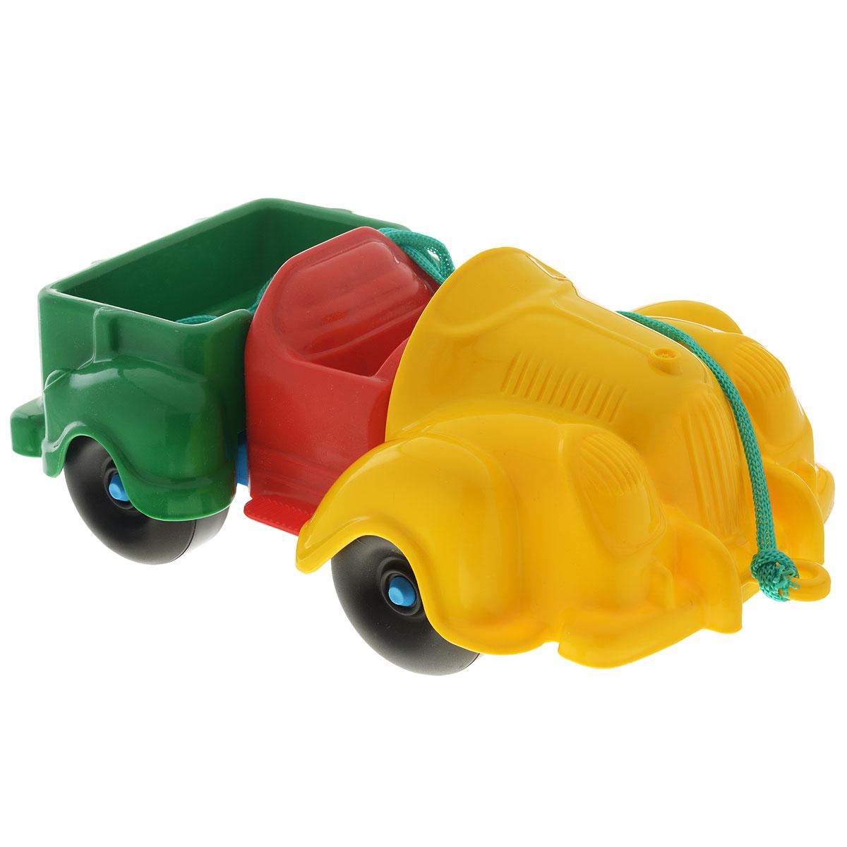 Каталка-конструктор Bauer Грузовик bauer toys игрушка каталка самолет