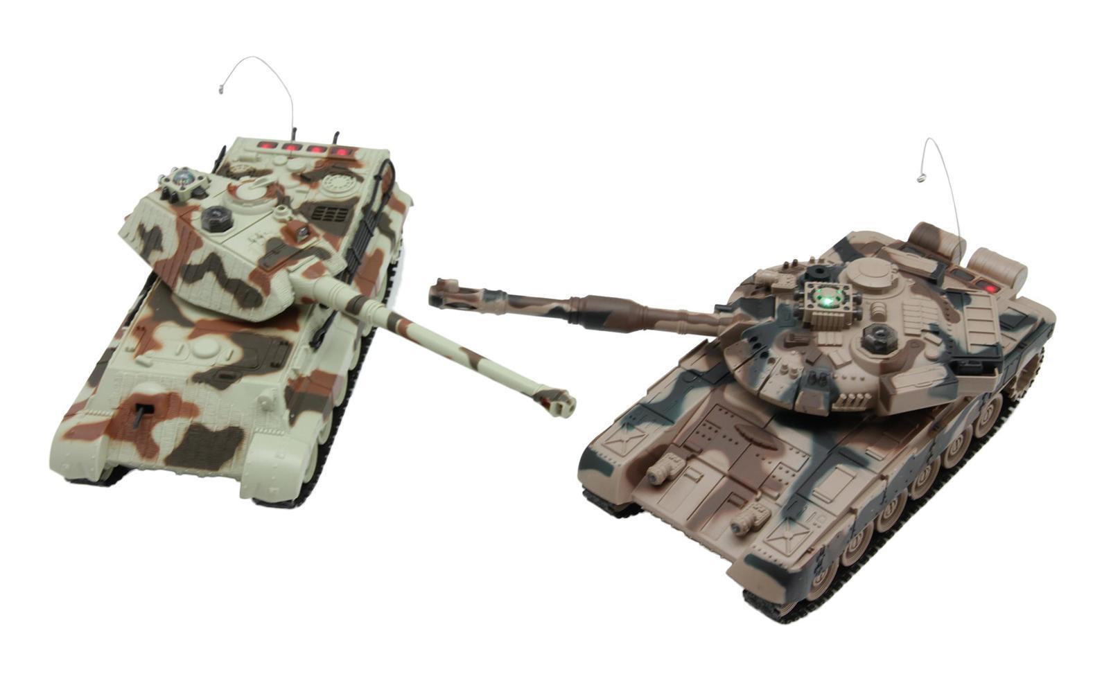 Balbi Набор танков на радиоуправлении Танковый бой FMTB-2802-A