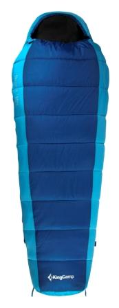Мешок спальный KingCamp  Desert 250 KS 3104 , левосторонняя молния, цвет: синий, 215 см х 80 см - Спальные мешки