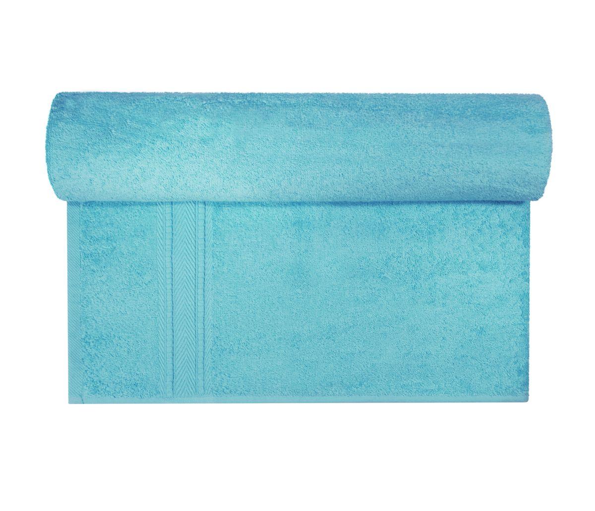 Полотенце махровое Osborn Textile, цвет: бирюзовый, 70 х 140 см531-105В состав полотенца Osborn Textile входит только натуральное волокно - хлопок. Лаконичные бордюры подойдут для любого интерьера ванной комнаты. Полотенце прекрасно впитывает влагу и быстро сохнет. При соблюдении рекомендаций по уходу не линяет и не теряет форму даже после многократных стирок. Плотность: 450 г/м2.