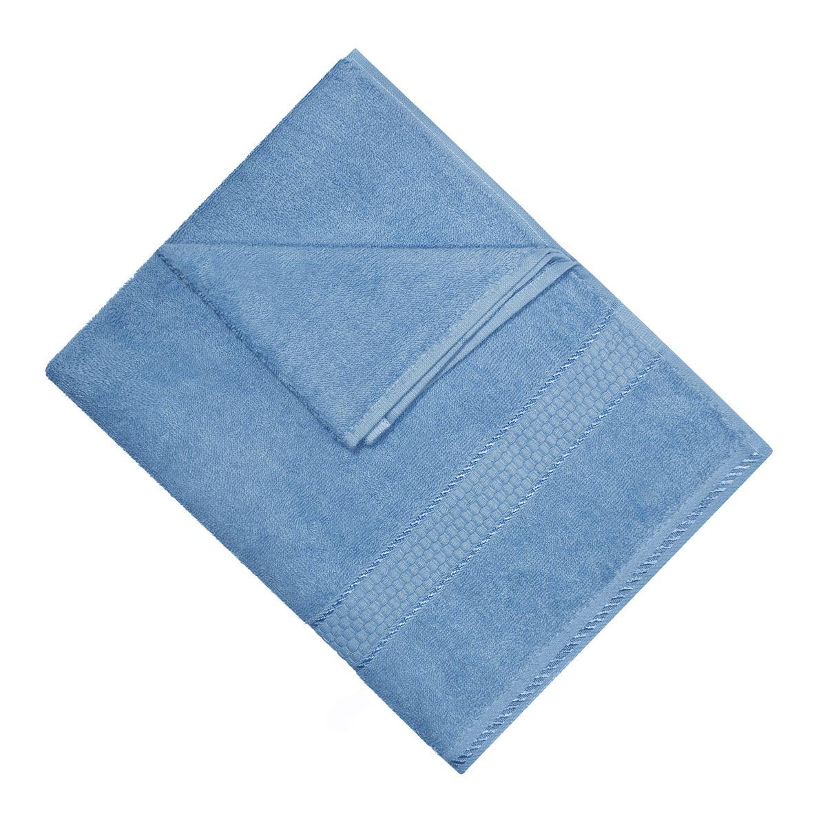 Полотенце махровое Osborn Textile, цвет: голубой, 50 см х 90 см68/5/3В состав полотенца Osborn Textile входит только натуральное волокно - хлопок. Лаконичные бордюры подойдут для любого интерьера ванной комнаты. Полотенце прекрасно впитывает влагу и быстро сохнет. При соблюдении рекомендаций по уходу не линяет и не теряет форму даже после многократных стирок. Плотность: 450 г/м2.