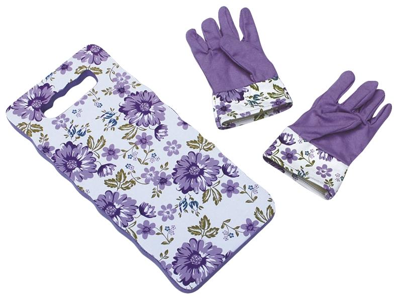 Набор подарочный 2 предмета: перчатки, подколенникG31111-04Набор подарочный из двух предметов - хороший подарок женщине, которая любит ухаживать за своим садом.