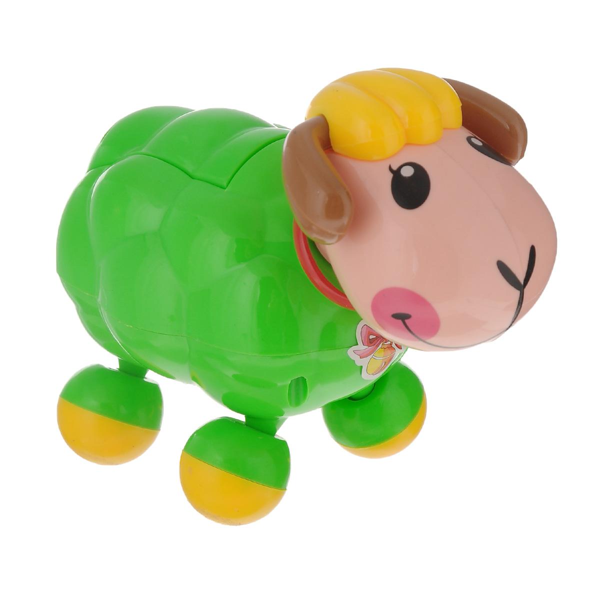 """Развивающая игрушка Mommy Love """"Веселая овечка"""", озвученная, цвет: зеленый, Dream Makers"""