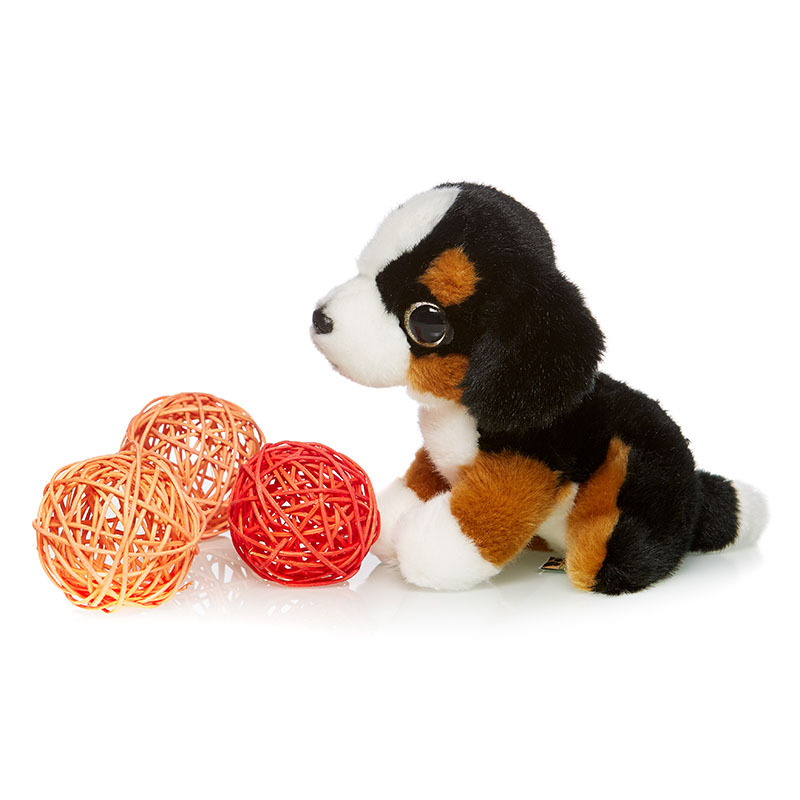 Maxi Toys Мягкая игрушка Сенбернар 18 см maxi toys мягкая игрушка антистресс