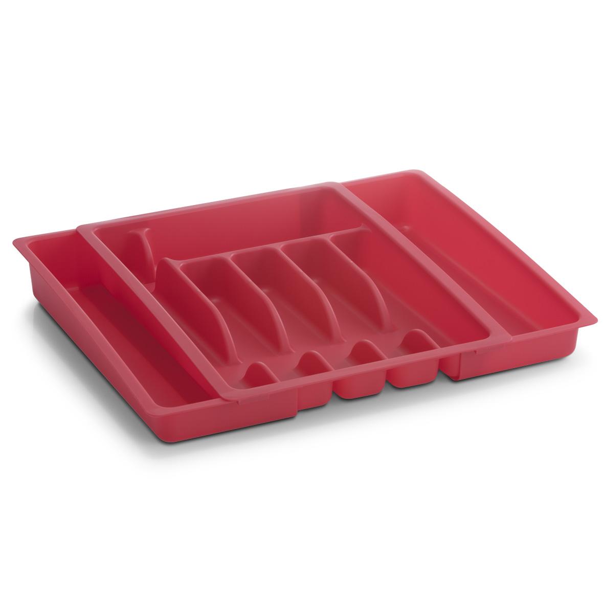 Лоток для столовых приборов Zeller, 38 х 29 х 6 смВетерок 2ГФЛоток для столовых приборов Zeller изготовлен из прочного пластика. Изделие имеет 6 отделений, в которых можно систематически разложить столовые приборы. Лоток можно разместить в кухонном ящике.