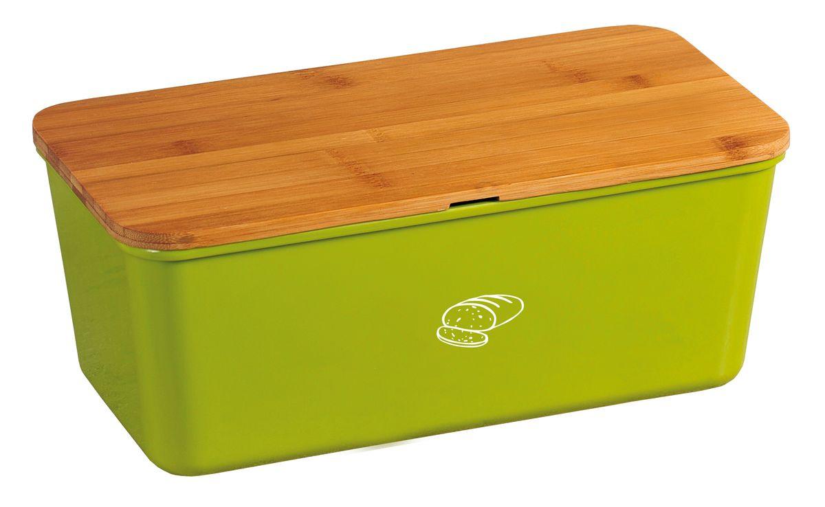 Хлебница Kesper, с разделочной доской, 34 х 13 х 18 см1809-2Хлебница Kesper представляет собой контейнер из высококачественного пластика с крышкой. Крышка, выполненная из древесины, также служит разделочной доской. Материал не содержит вредных примесей и токсинов. Хлебница Kesper позволит сохранить ваш хлеб свежим и вкусным.