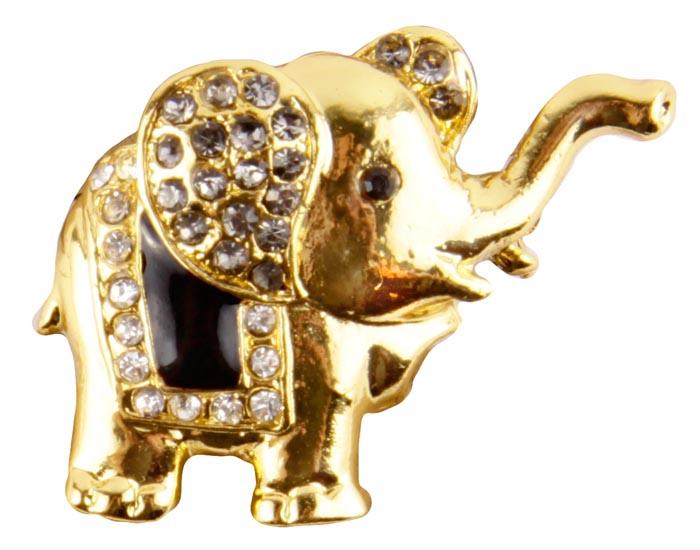 Брошь Золотой слон. Бижутерный сплав , эмаль, австрийские кристаллы. Конец XX векаБрошь-булавкаБрошь Золотой слон.Бижутерный сплав, эмаль, австрийские кристаллы. Западная Европа, конец XX века. Размеры 4 х 3 см. Сохранность хорошая. Очаровательная яркая брошка в виде слона споднятым хоботом. Аксессуар сделан из золотого металлического сплава. Уши слона украшены россыпью прозрачных кристаллов. Попона черного цвета так жеукрашенакристаллами .Эта красивая брошь станет отличным украшением и гармонично дополнит Ваш наряд, станет завершающим штрихом в создании образа. Слон как символ мудрости, семьи и счастья принесет вам удачу и хорошее настроение.