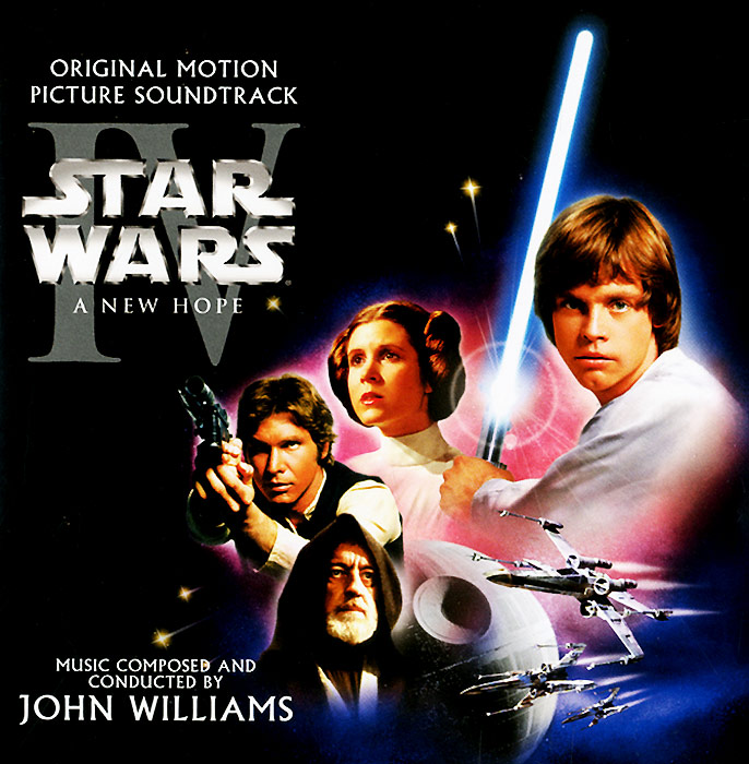 The London Symphony Orchestra Star Wars. Episode IV. A New Hope. Original Motion Picture Soundtrack (2 CD)