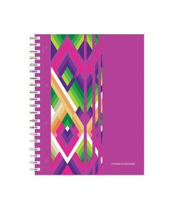 тетрадь А4 120л Диагонали, УФ-лак, жесткий ламинат (матовый), цвет: розовый72523WDОтличная тетрадь подойдет как школьнику так и в повседневной жизни. Тетрадь сделана из качественной бумаги. Обложку украшает отличный принт.