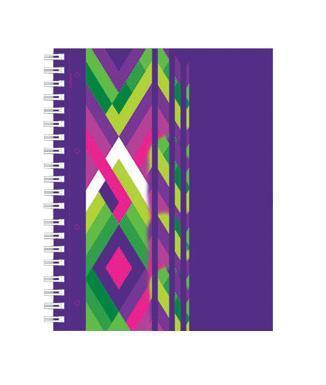 тетрадь А4 120л Диагонали, УФ-лак, жесткий ламинат (матовый), цвет: фиолетовый72523WDОтличная тетрадь подойдет как школьнику так и в повседневной жизни. Тетрадь сделана из качественной бумаги. Обложку украшает отличный принт.