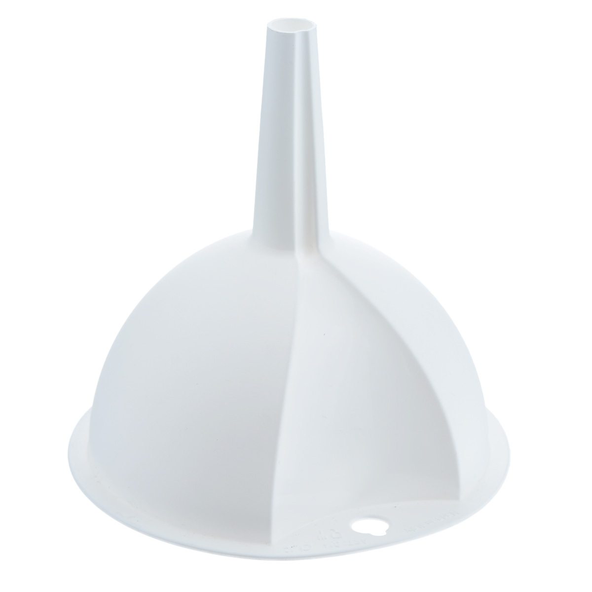 Воронка Metaltex, цвет: белый, диаметр 12 см94672Воронка Metaltex, выполненная из пластика, станет незаменимым аксессуаром на вашей кухне. Воронка плотно прилегает к краям наполняемой емкости, и вы не прольете ни капли мимо.Она отлично послужит для переливания жидкостей в сосуд с узким горлышком. Диаметр воронки:12 см.Высота ножки: 6 см.