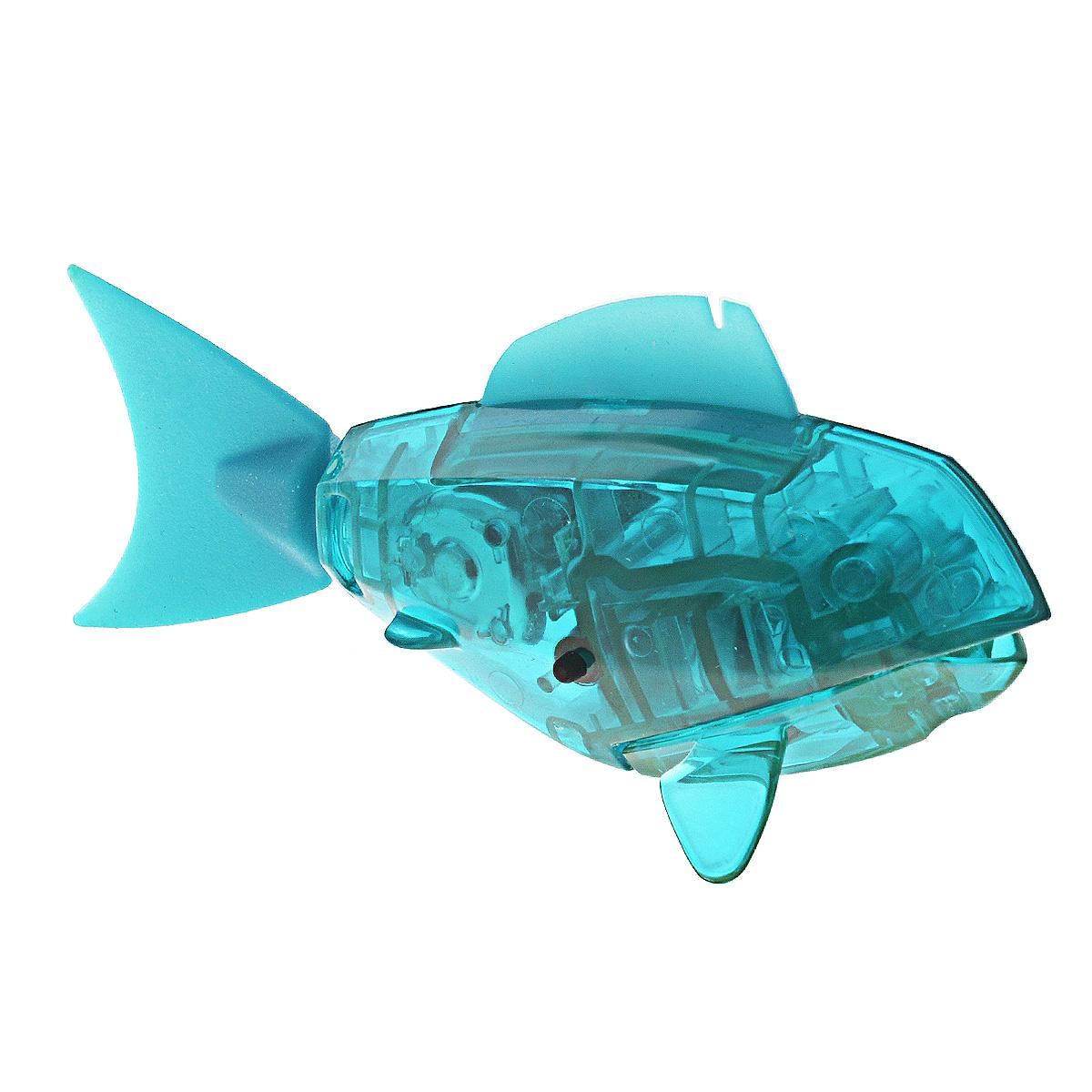Игровой наюбор Hexbug Aqua Bot, с аквариумом, цвет: бирюзовый deskpets микро робот скитербот цвет зеленый