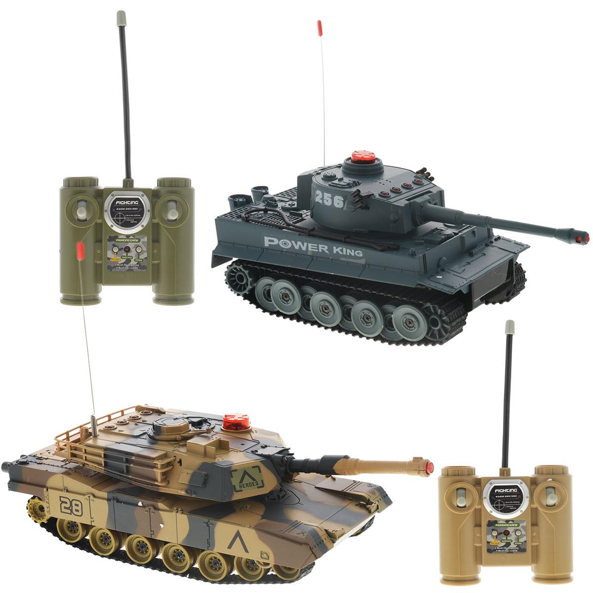 Bluesea Набор танков на дистанционном управлении Танковый бой 2 шт