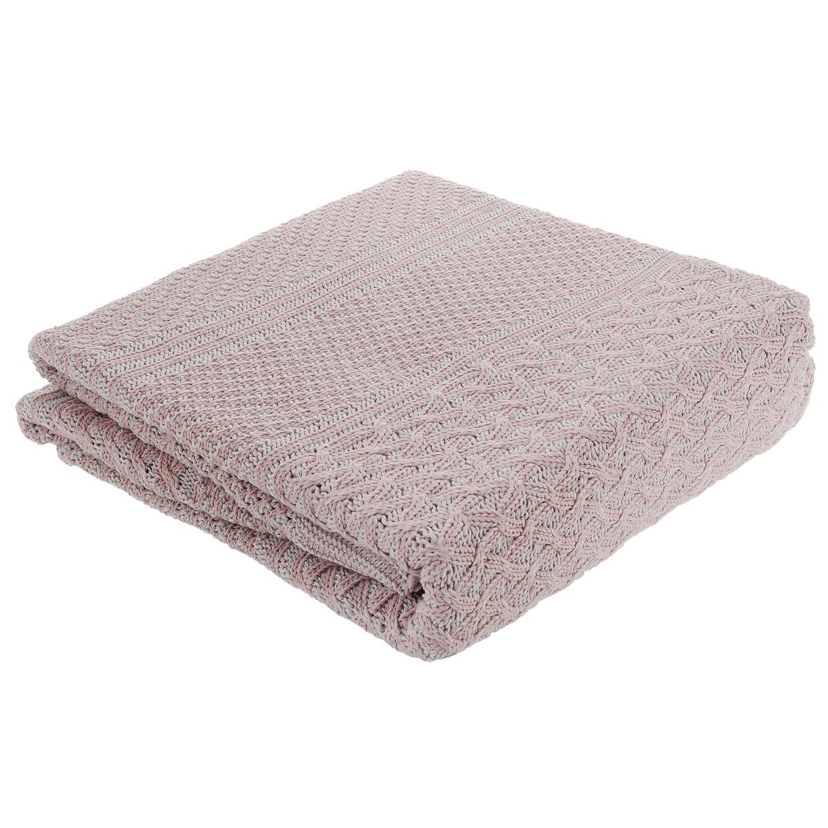 Покрывало вязанное Леди прима Верона, цвет: розовый, 150 х 200 смWUB 5647 weisВязаное покрывало Леди прима Верона - это элегантное сочетание мягкости, тепла, красоты и комфорта. Покрывало выполнено на 80% из хлопка и на 20% из полиэстера. Изделие имеет красивый вязаный узор. Таким покрывалом можно не только украсить постель, но и использовать их в качестве пледа. Элегантный дизайн и приятная фактура покрывала, создаст по-настоящему уютный интерьер, пребывание в котором не надоест долгие годы. Покрывало особенно понравятся людям, ценящим изысканность и качество. Изделие упаковано в подарочную коровку.