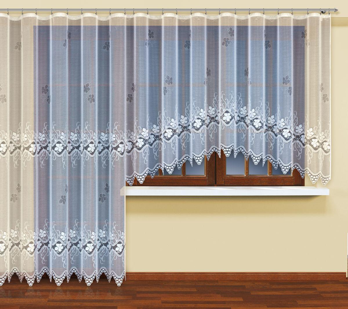 Комплект балконный HAFT 400*160+200*250. 222571SVC-300Комплект балконный XAFT 400*160+200*250. 222571Материал: 100% п/э, размер: 400*160+200*250, цвет: белый