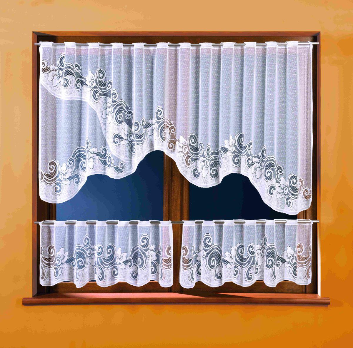 Комплект штор WISAN 250*100+(40*125)*2. 3283SVC-300Комплект штор WISAN 250*100+(40*125)*2. 3283Материал: 100% п/э, размер: 250*100+(40*125)*2, цвет: белый