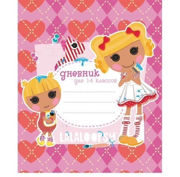 Дневник для младших классовACTION! LALALOOPSY, 7БЦ,глянц.лам.72523WDДневник Lalaloopsy предназначен для младших классов. Очень понравится маленькой девочке. Обложка дневника порадует свою Обладательница яркими красками.