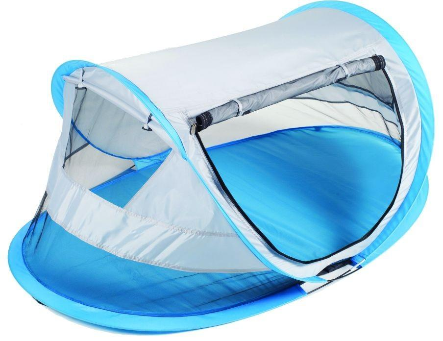 """Однослойная двухмесная палатка Trek Planet """"Moment Mini"""", мгновенно устанавливается! Палатка отлично защищает от насекомых во время летнего отдыха, а также благодаря москитной сетке в треть высоты по периметру палатки в нижней части, обладает отличной вентиляцией! Длина палатки: 130 см Высота палатки: 52 см Глубина палатки: 75 см."""