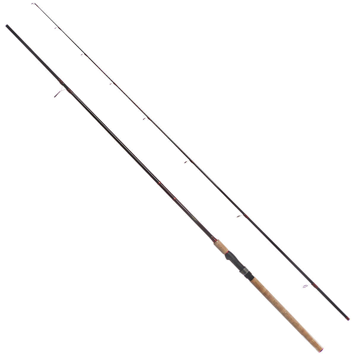 Удилище спиннинговое Daiwa Vulcan-AR, штекерное, цвет: черный, 2,74 м, 5-28 г