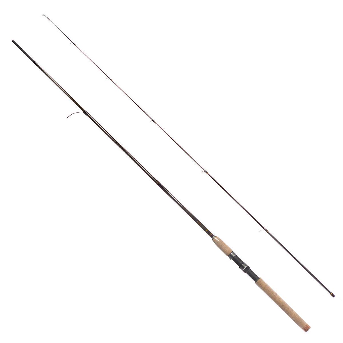 Удилище спиннинговое Daiwa New Exceler, штекерное, цвет: темно-коричневый, 2,1 м, 10-20 г удилище daiwa exceler ru 902mhfs 2 74m
