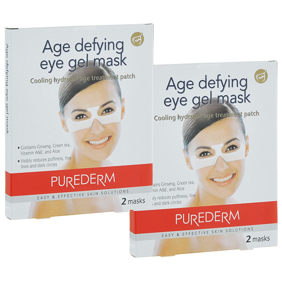 Purederm Гелевая маска для глаз с омолаживающим эффектом, 2х70 г.03.09.01.1240Cпециальное косметическое средство, созданное для уменьшения морщин вокруг глаз без раздражения кожи. Гелевая основа подушечек обеспечивает глубокое проникновение питательных и увлажняющих ингредиентов и их длительное воздействие на кожу.
