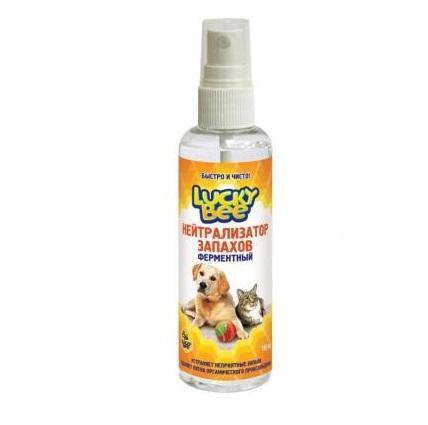 Ферментный нейтрализатор запахов (животных) Lucky Bee, 150 мл106-026LB 7512 Ферментный нейтрализатор запахов (животных) 150 мл Lucky Bee LB 7512