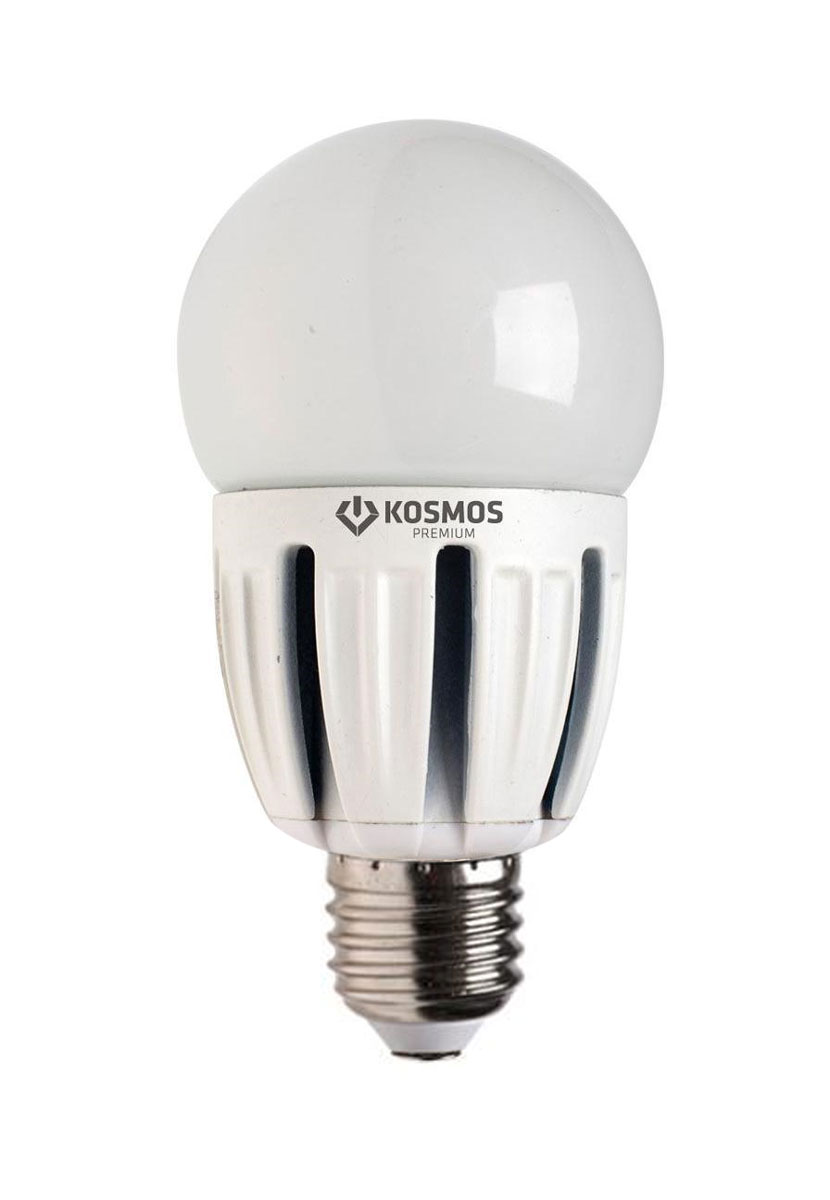 Светодиодная лампа Kosmos Premium, теплый свет, цоколь Е27, 5W. KLED5wGL45230vE2727C0042416Использование светодиодов от мирового лидера SAMSUNG и предоставление 2 лет гарантии – залог надежной и стабильной работы лампы. Теплый оттенок света лампы по цветовой температуре соответствует обычной лампе накаливания и позволит создать уют в спальнях и местах отдыха.