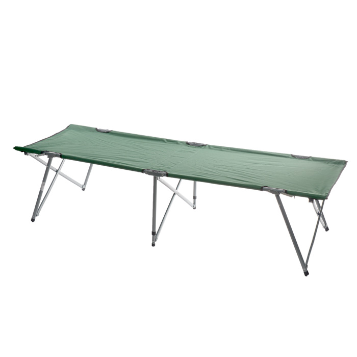 Кровать складная Green Glade M6185, 193 х 67 х 44 смM6185Складная кемпинговая кровать Green Glade M6185 предназначена для создания комфортных условий в туристических походах, на рыбалке и кемпинге.Особенности:Компактная складная конструкция.Прочный стальной каркас.Прочная ткань полиэстер 600D с поливиниловым покрытием обладает повышенной износостойкостью.В комплекте чехол для переноски и хранения.