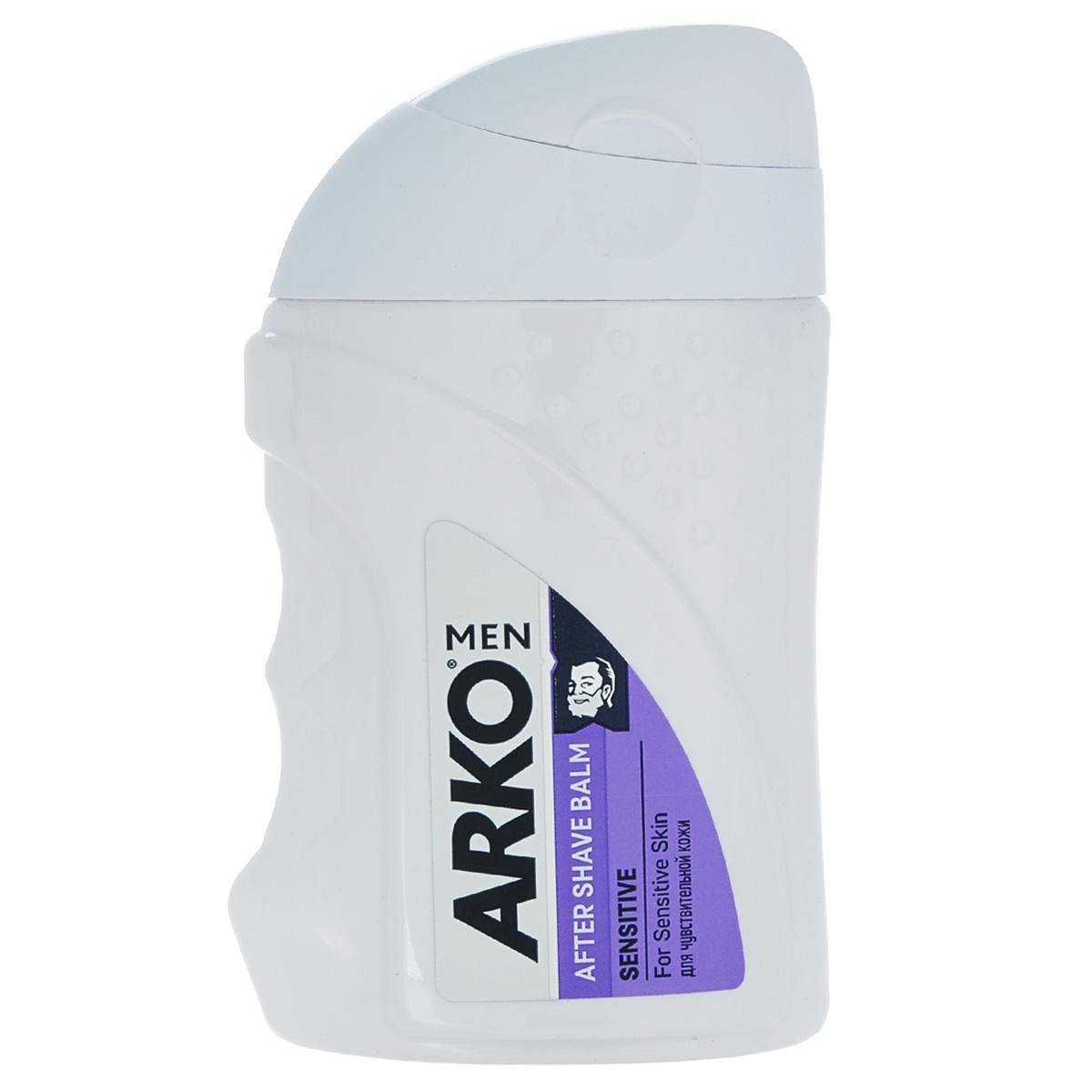 Arko MEN Бальзам после бритья Sensitive 150мл800537572защищает Вашу кожу от эффектасухости, вызванного бритьем и оставляет долгое ощущение комфорта