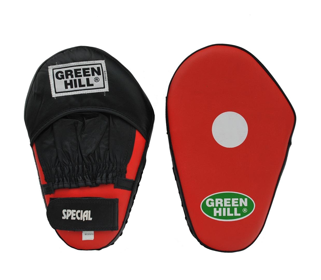 Лапы боксерские Green Hill Special, большие, 2 шт лапы everlast боксерские лапы vinyl mantis