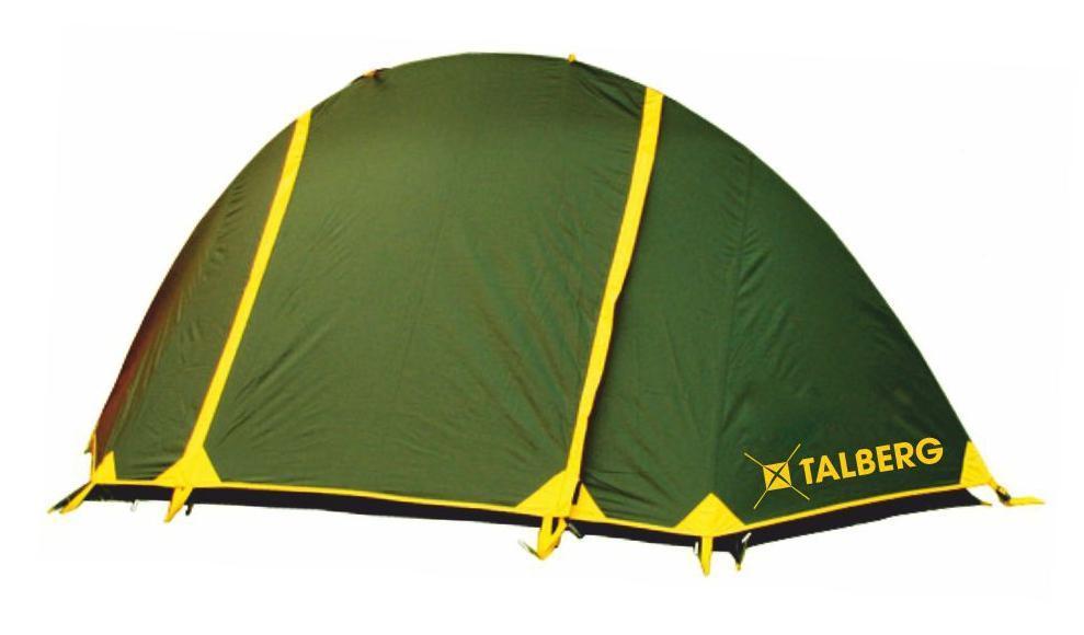 Палатка Talberg BURTON 1, цвет: зеленыйKOCAc6009LEDЛегкая двухслойная одноместная палатка для велосипедных и пеших походов. Туристическая линия Talberg.Палатки Talberg Туристической линии были специально разработаны для походов в весеннее, летнее и осеннее время. В палатках этой серии используются материалы и конструкции, которые позволяют комфортно провести теплую летнюю ночь или переждать серьезную непогоду с сильным ветром и осадками. Состав материала: полиэстер, фибергласс