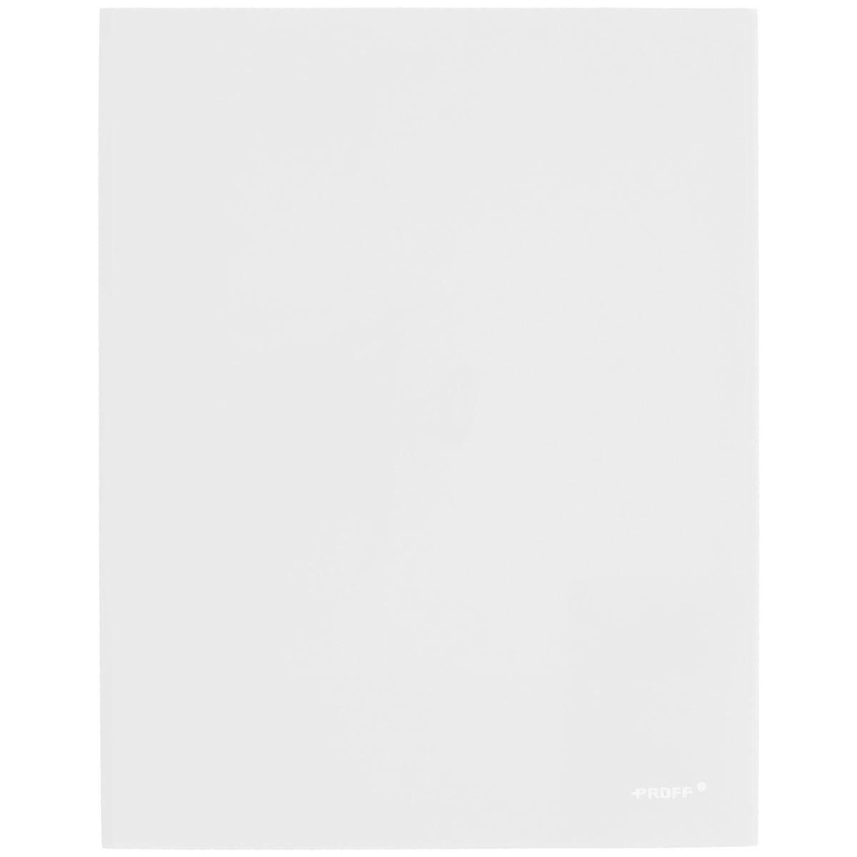 Папка-уголок Proff, цвет: прозрачный, 2 клапана. Формат А42010440Папка-уголок Proff, изготовленная из высококачественного полипропилена, это удобный и практичный офисный инструмент, предназначенный для хранения и транспортировки рабочих бумаг и документов формата А4. Полупрозрачная папка оснащена двумя клапана внутри для надежного удержания бумаг. Папка-уголок - это незаменимый атрибут для студента, школьника, офисного работника. Такая папка надежно сохранит ваши документы и сбережет их от повреждений, пыли и влаги.
