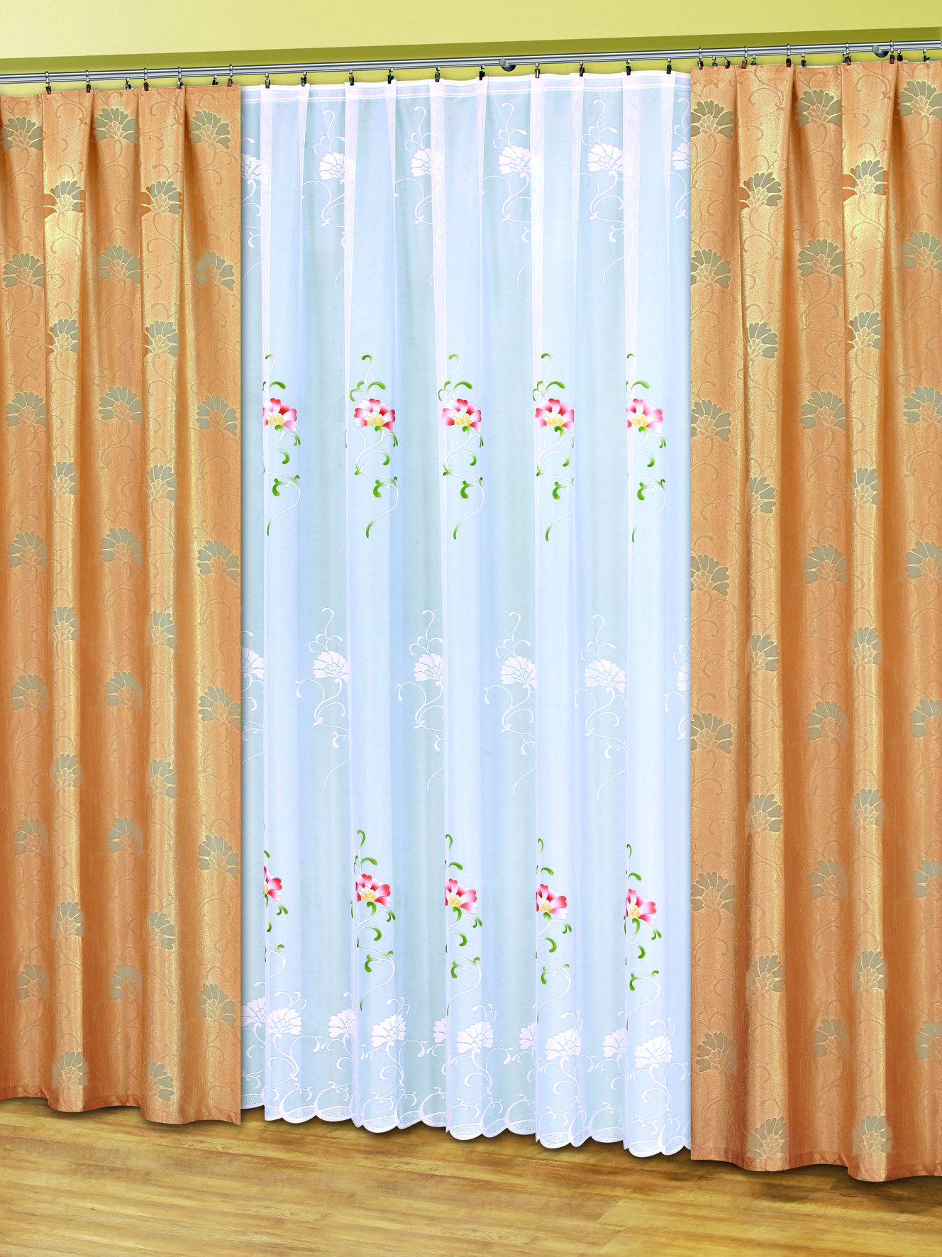 Комплект штор HAFT 250*500+145*250*2. 50080/250 капучино078WКомплект штор XAFT 250*500+145*250*2. 50080/250 капучиноМатериал: 100% п/э, размер: 250*500+145*250*2, цвет: капучино