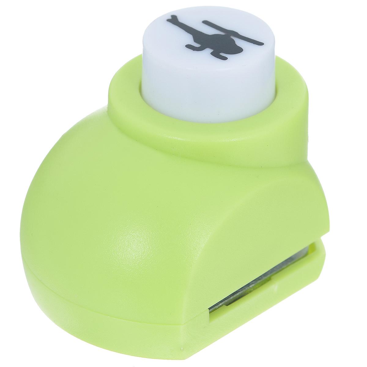 Дырокол фигурный Астра Вертолет. JF-822FS-54114Дырокол Астра Вертолет поможет вам легко, просто и аккуратно вырезать много одинаковых мелких фигурок.Режущие части компостера закрыты пластмассовым корпусом, что обеспечивает безопасность для детей. Можно использовать вырезанные мотивы как конфетти или для наклеивания. Дырокол подходит для разных техник: декупажа, скрапбукинга, декорирования.Размер дырокола: 4 см х 3 см х 4 см. Размер готовой фигурки: 1,3 см х 0,7 см.