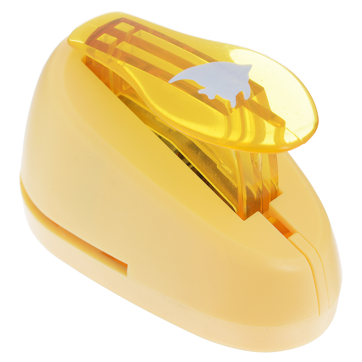 Дырокол фигурный Астра Рыбка. CD-99S7709603_90Дырокол Астра Рыбка поможет вам легко, просто и аккуратно вырезать много одинаковых мелких фигурок.Режущие части компостера закрыты пластмассовым корпусом, что обеспечивает безопасность для детей. Вырезанные фигурки накапливаются в специальном резервуаре. Можно использовать вырезанные мотивы как конфетти или для наклеивания. Дырокол подходит для разных техник: декупажа, скрапбукинга, декорирования.Размер дырокола: 7 см х 4 см х 5 см. Размер готовой фигурки: 1 см х 1,3 см.