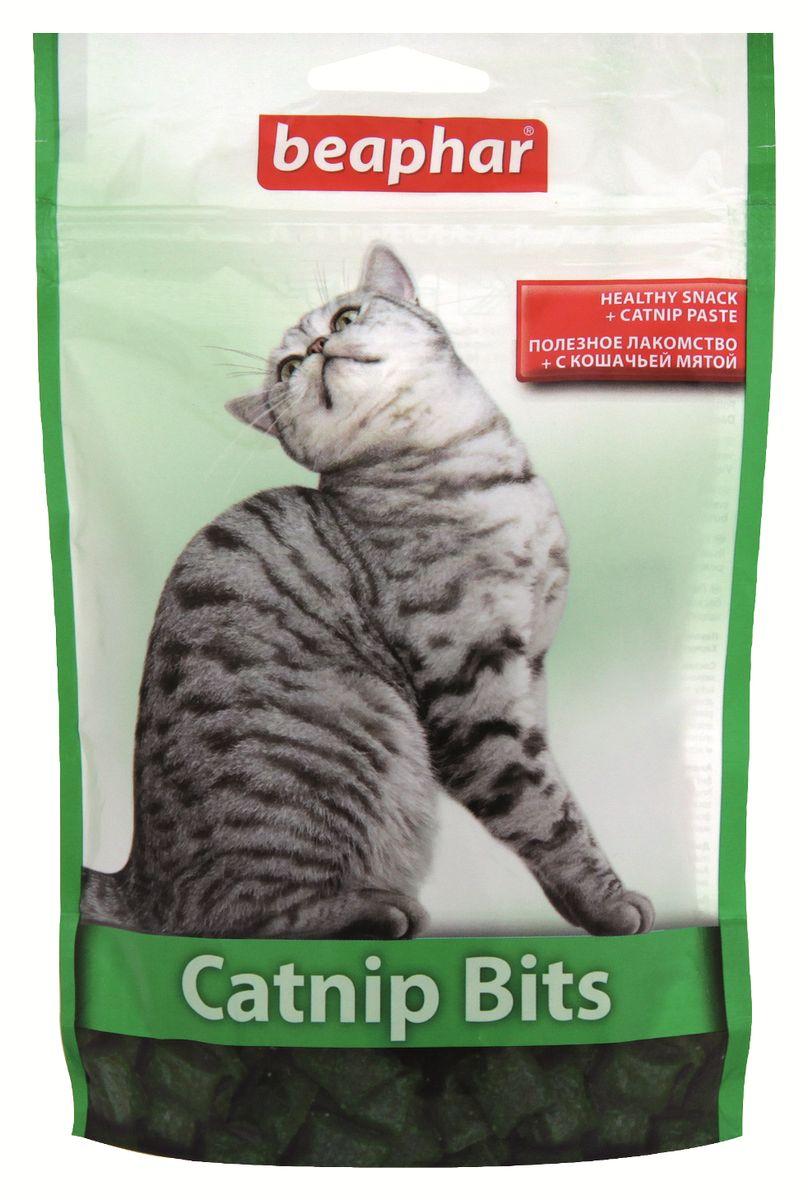 Лакомство для кошек Beaphar Catnip Bits, с кошачьей мятой, 150 г0120710Лакомство с экстрактом кошачьей мяты Beaphar Catnip Bits предназначено для кошек и котят. Полезные и вкусные хрустящие подушечки, наполненные пастой из кошачьей мяты, содержат витамины и минералы, необходимые для поддержания здоровья и жизненной активности кошки. Рекомендуемая дозировка: 5-10 штук в день. Состав: злаки, продукты растительного происхождения (кошачья мята 0,12%), молоко и молочные субпродукты, масла и жиры, мясо и субпродукты животного происхождения, дрожжи. Анализ: протеин 31%, клетчатка 2,8%, масла и жиры 10%, зола 3,4%, влажность 9%, кальций 0,14%, фосфор 0,62%, натрий 0,18%, калий 0,53%, магний 0,13%.Вес упаковки: 150 г. Товар сертифицирован.