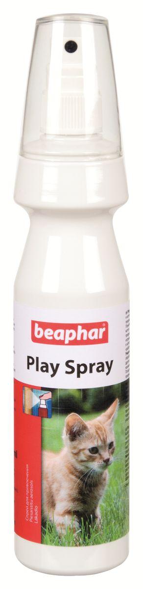 Спрей для привлечения кошек к предметам Beaphar Play Spray, 150 мл72008Спрей Beaphar Play Spray предназначен для привлечения котят и кошек к местам, специально предназначенных для игр и заточки когтей. Спрей помогает переключить внимание кошек и играющих котят с ценных предметов на специально предназначенные для расцарапывания доски, игрушки. Спрей можно использовать также для пробуждения у кошки интереса к старым игрушкам. Состав: экстракт валерианы 10%.Способ применения: обработайте спреем игрушки, когтеточки и другие предметы, которые можно оставить кошкам и котятам для расцарапывания. Используя спрей впервые, проверьте на малозаметных участках предмета не образуются ли пятна. Объем: 150 мл. Товар сертифицирован.