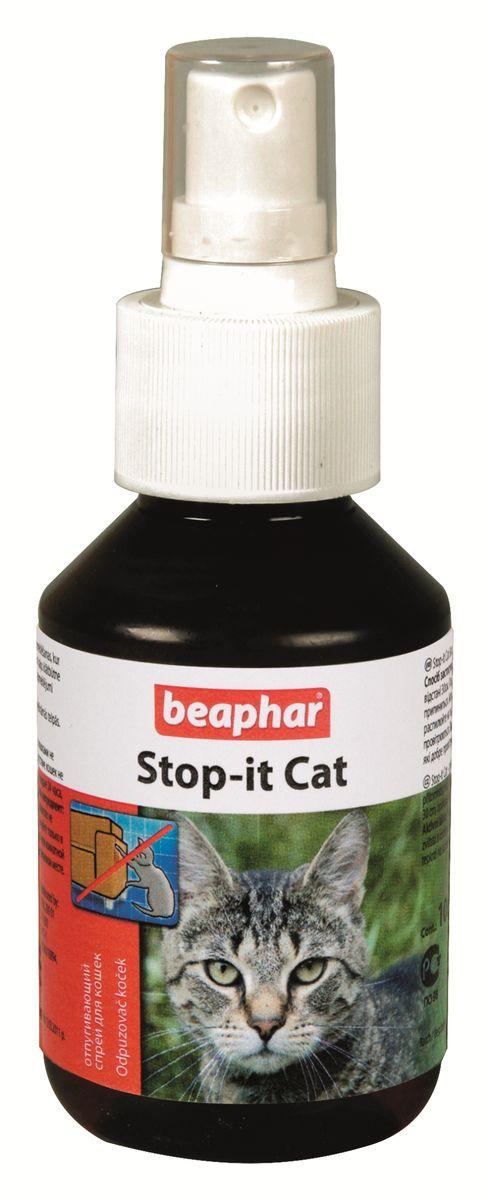 Спрей для кошек Beaphar Stop-it Cat, отпугивающий, 100 мл0120710Спрей Beaphar Stop-it Cat предназначен отпугивания котов и кошек. Поможет вам отвадить кошек от мест, где их пребывание нежелательно. Надежно защитит предметы обихода от порчи или загрязнений кошками. Способ применения: обработайте места, где присутствие кошек нежелательно (с расстояния 30 см). Повторяйте каждые 24 часа, пока эти посещения не прекратятся. Состав: метилнонилкетон 14 г/л. Объем: 100 мл. Товар сертифицирован.