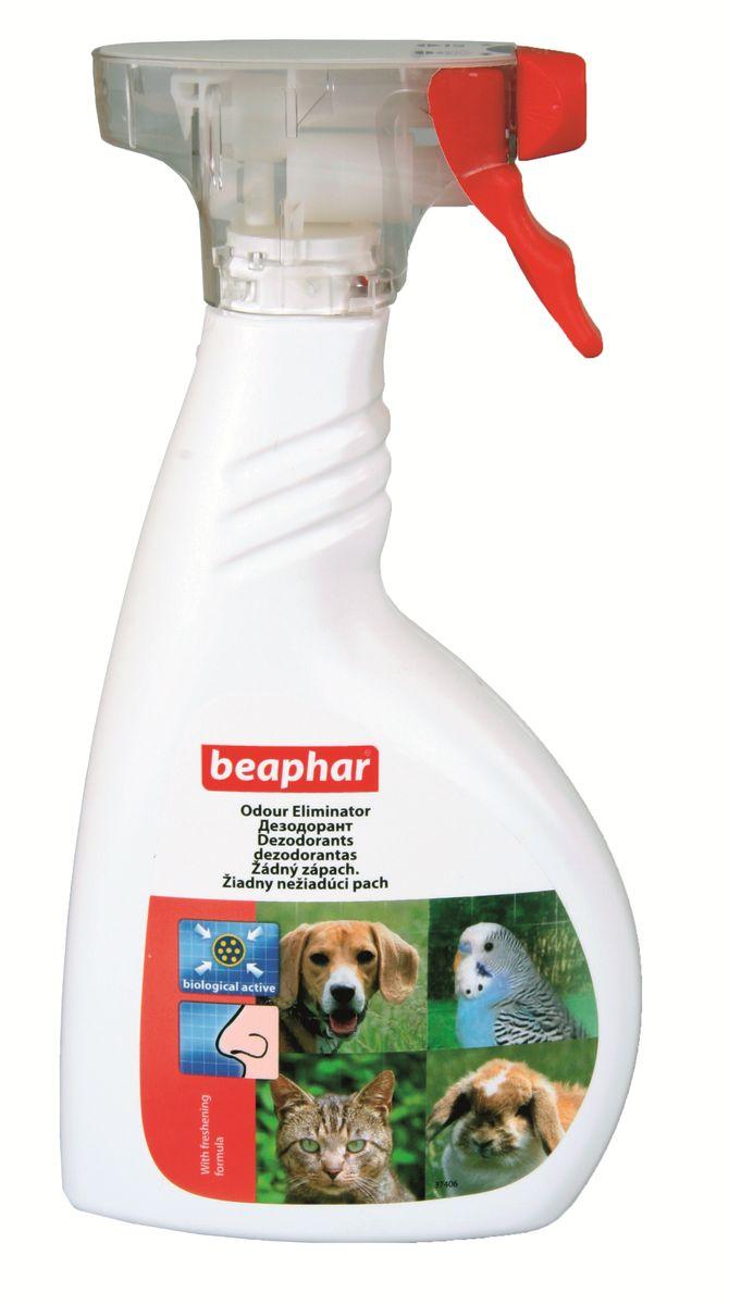 Дезодорант для уничтожения запаха Beaphar Odour Eliminator, 400 мл0120710Спрей Beaphar Odour Eliminator предназначен для уничтожения биологических пятен и неприятных запахов, вызванных животными в помещении (запах псины, запах испражнений, другие неприятные запахи). Содержит бактерии, которые надежно связывают ферменты неприятного запаха и придают воздуху легкий цветочный аромат. Состав продукта: раствор спор палочковидных бактерий, биоразлагаемых поверхностно-активных веществ и ароматизатора, вода деминерализованная. Способ применения: перед применением хорошо встряхните. Обильно распылите на поверхности пятна. Оставьте препарат действовать в течение нескольких минут. Удалите грязь с помощью ткани или губки и хорошо протрите слегка влажной тканью. Устранение трудноудаляемых или старых пятен может потребовать повторного применения. Объем: 400 мл. Товар сертифицирован.