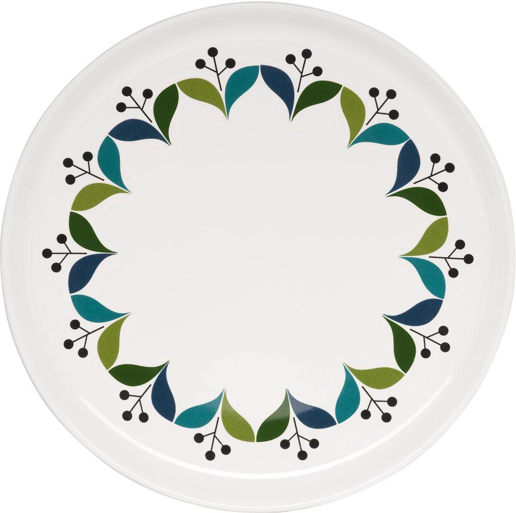 Тарелка Sagaform Retro, диаметр 21 см54 009303Тарелка Sagaform Retro изготовлена из высококачественной керамики и декорирована красочным рисунком. Эта тарелка сочетает в себе изысканный дизайн с максимальной функциональностью. Она прекрасно впишется в интерьер вашей кухни и станет достойным дополнением к кухонному инвентарю. Такая тарелка не только украсит ваш кухонный стол и подчеркнет прекрасный вкус хозяйки, но и станет отличным подарком.