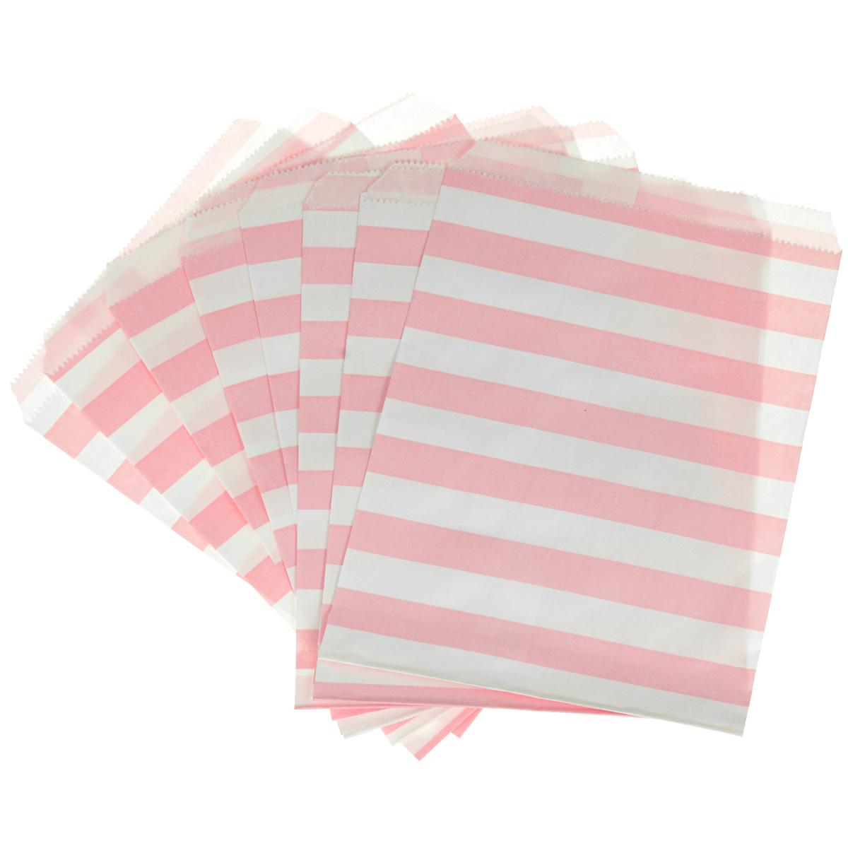 Пакеты бумажные Dolce Arti Stripes, для выпечки, цвет: розовый, 10 шт115010Бумажные пакеты Dolce Arti Stripes очень многофункциональны. Их можно использовать насколько хватит вашей фантазии: для выпекания, для упаковки маленьких подарков, сладостей и многого другого. Размер пакета: 13 см х 18 см.