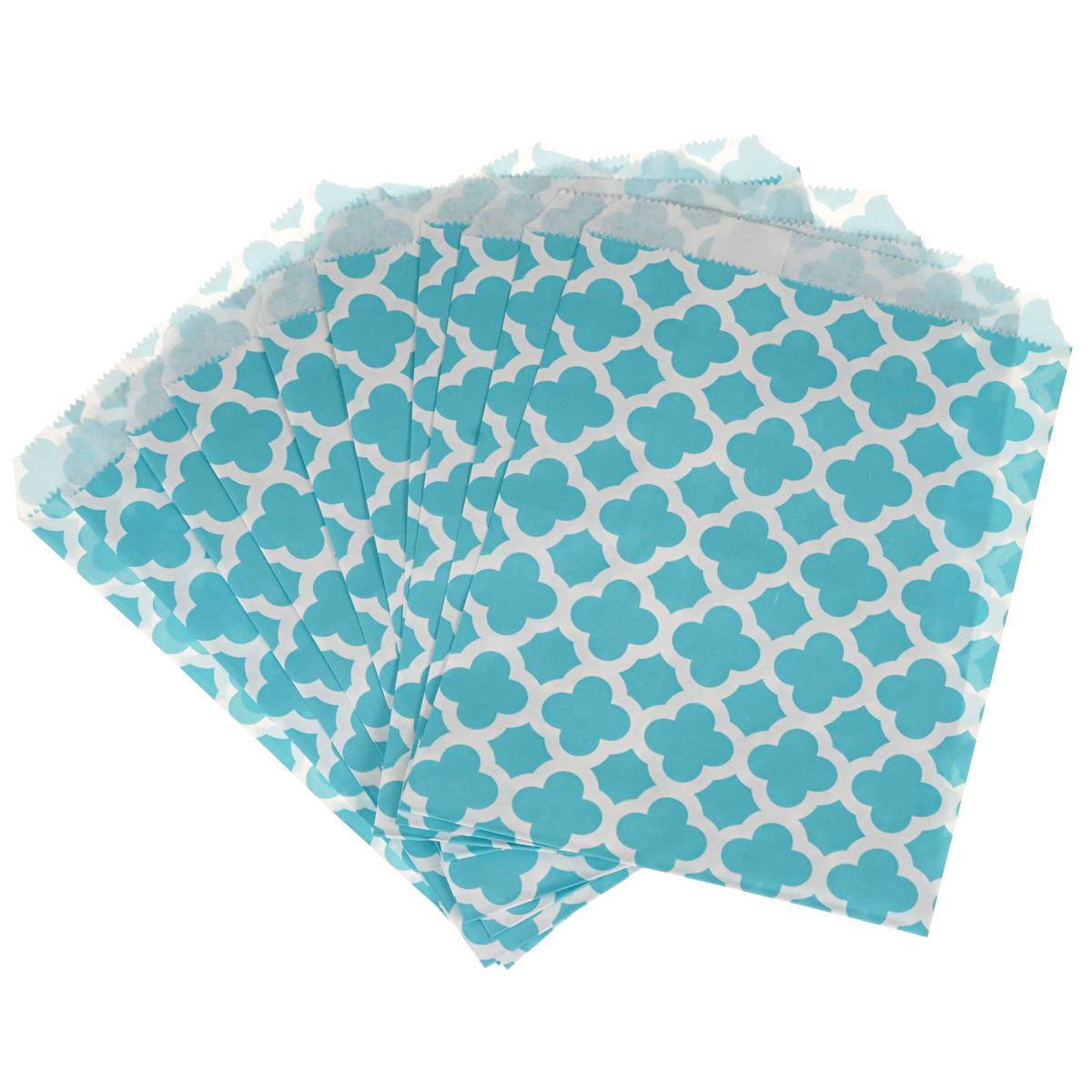 Пакеты бумажные Dolce Arti Arabesque, для выпекания, цвет: голубой, 10 шт60588Бумажные пакеты Dolce Arti Arabesque очень многофункциональны. Их можно использовать насколько хватит вашей фантазии: для выпекания, для упаковки маленьких подарков, сладостей и многого другого. Размер: 13 см х 18 см.