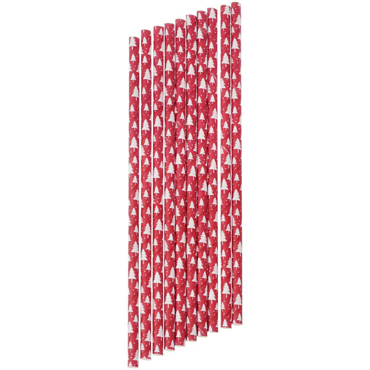 Набор бумажных трубочек Dolce Arti Елки, цвет: красный, 10 штVT-1520(SR)Набор Dolce Arti Елки состоит из 10 бумажных трубочек, предназначенных для напитков. Цветные трубочки станут не только эффектным украшением коктейлей, но и ярким штрихом вашего сладкого стола. С набором Dolce Arti Елки ваш праздник станет по-настоящему красочным!Длина трубочки: 19,5 см. Диаметр трубочки: 5 мм.