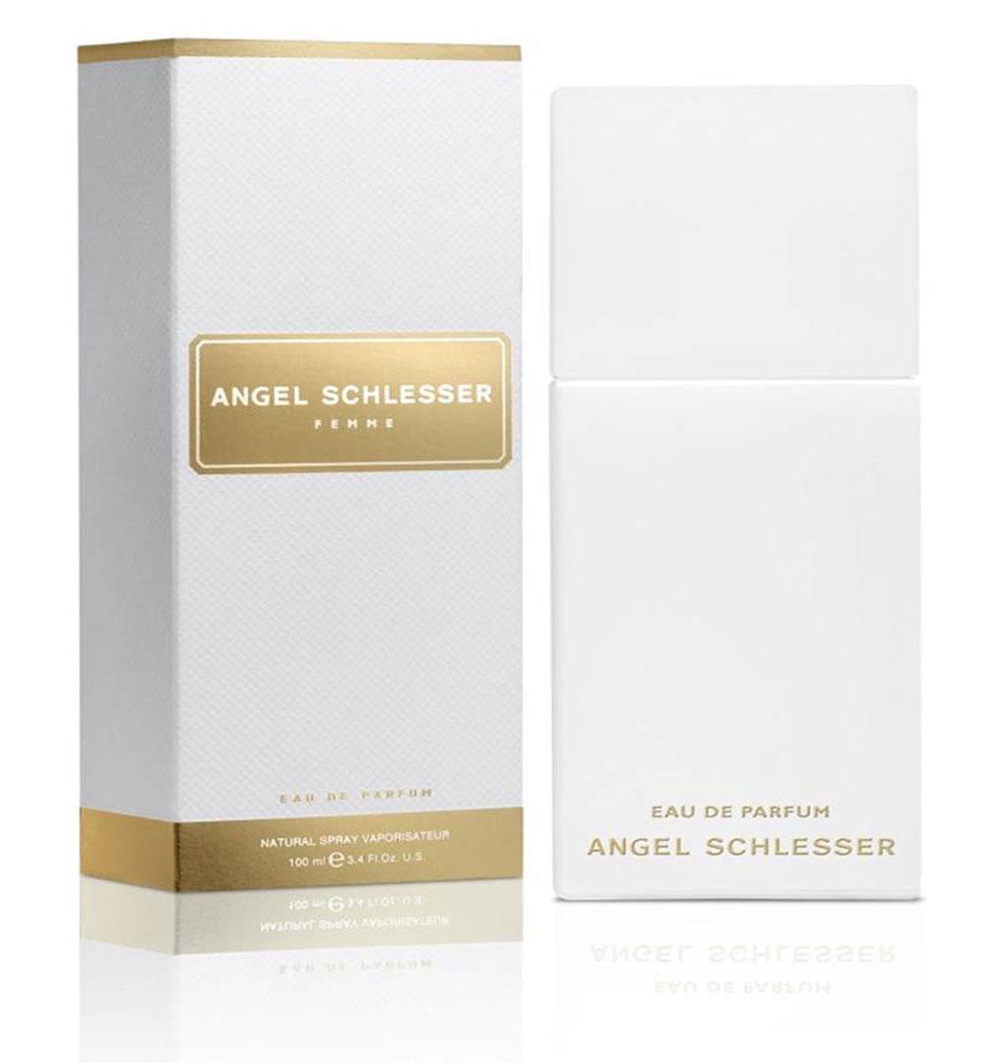 Angel Schlesser Femme Парфюмерная вода, женская, 30 мл0737052802749Новая Парфюмированная вода ANGEL SCHLESSER FEMME основана на оригинальной парфюмерной композиции. Она передает тот же свежий, прозрачный аромат, становясь при этом более чувственной и теплой. Аромат контрастов, где свежесть и теплота чередуются с красотой и элегантностью, соблазнительное очарование женщины передает интенсивная композиция, полная женственной чувственности. Женщина ANGEL SCHLESSER FEMME обладает естественной элегантностью и внутренней красотой. Ей не нужны вычурные аксессуары для привлечения внимания. Все что ей нужно – быть настоящей, быть собой. А ее аромат – это часть ее индивидуальности. Парфюмированная вода ANGEL SCHLESSER FEMME делает акцент на ее обольстительной природе и придает ей больше притягательности, чувственности и теплоты.СТРУКТУРА АРОМАТАВерхние ноты: Мандарин, Португальский черный перец, Бергамот.Начальные ноты представляют собой искрящуюся свежесть бергамота и мандарина, которая вступает в контраст с пикантной теплотой перца.Сердечные ноты: Фиалка, Лепестки жасмина, Имбирь.Цветочные сердечные ноты женственны и жизнерадостны. Они представлены лепестками жасмина и таинственной нежностью фиалки. Экзотический имбирь завершает эту гармоничную композицию. Базовые ноты: Амбра, Бобы тонка, Светлая древесина, Белый мускус.Отражают чувственный и насыщенный характер аромата. Бобы тонка, мускус и амбра придают соблазнительный оттенок и женственное очарование композиции.