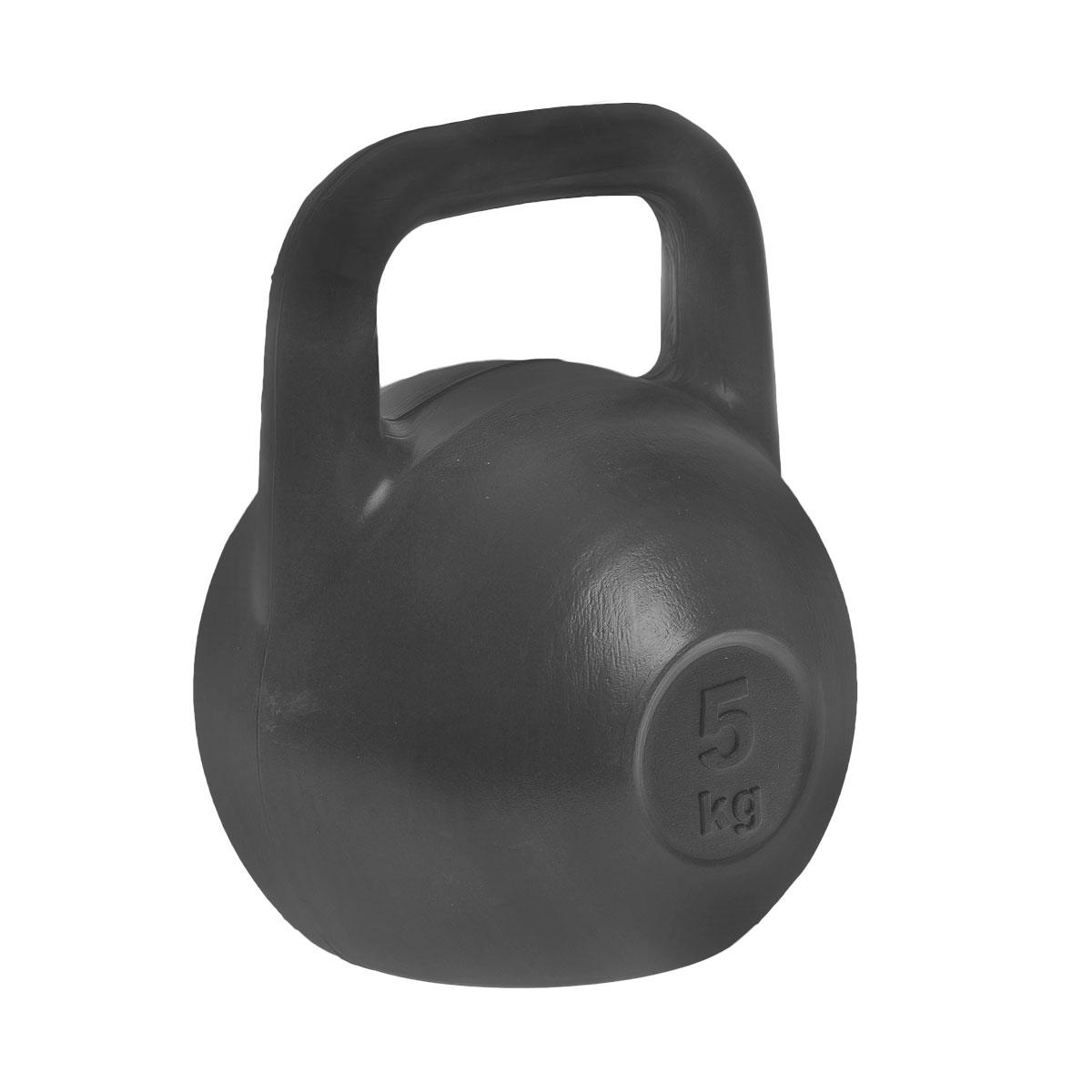 Гиря  Евро-Классик , цвет: черный, 5 кг - Оборудование для силовых тренировок