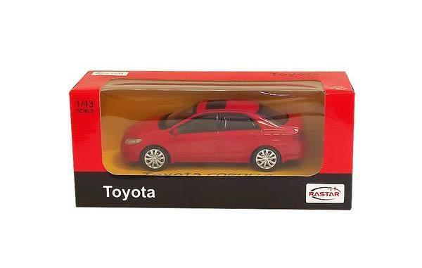 Машина Toyota COROLLA в металлическом исполнении, инерционная. Машина совсем как настоящая : открывающиеся двери - все это поможет вашему ребенку понять как работает реальная модель. Упаковка: картонная коробка. Размер игрушки: 1:43 к реальному размеру модели.